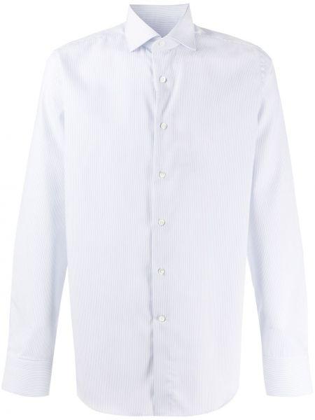 Koszula z długim rękawem wyposażone długa Canali