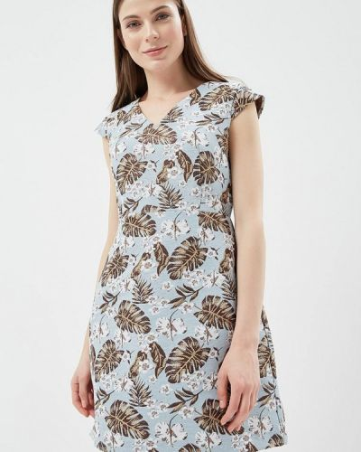 Голубое платье весеннее Adl