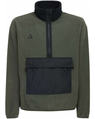 Zielony anorak kurtka z kapturem Nike Acg