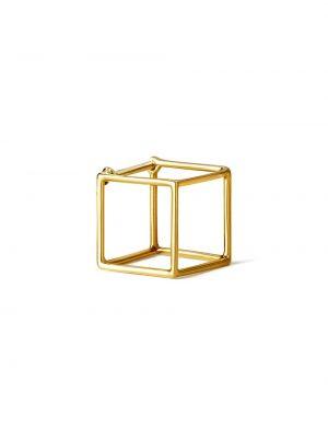 Серьги металлические квадратные Shihara