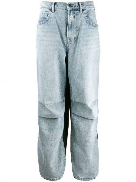 Spodnie z kieszeniami zapinane na guziki Alexander Wang