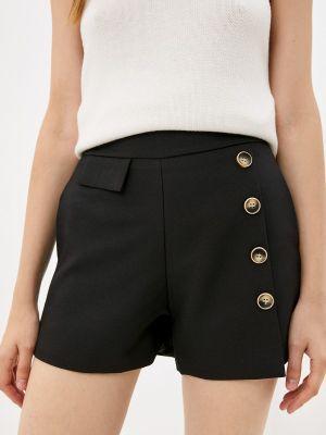 Черные повседневные шорты Miss Gabby