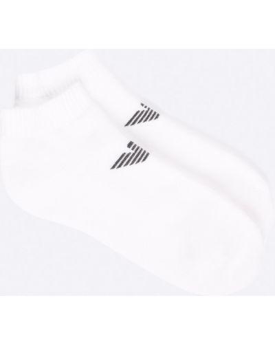 Белые носки Emporio Armani