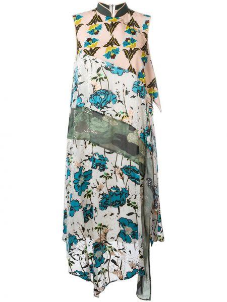 Платье с цветочным принтом Antonio Marras