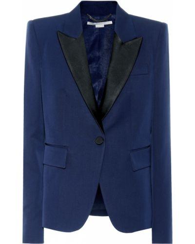 Синий пиджак Stella Mccartney
