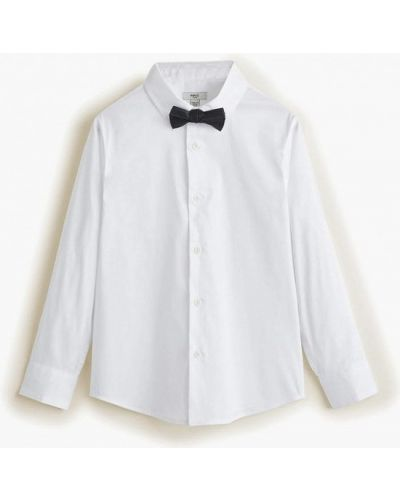 Рубашка белая Mango Kids