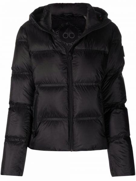 Стеганая куртка - черная Moose Knuckles