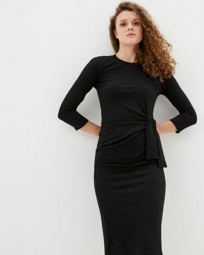 Черное платье-свитер Wallis
