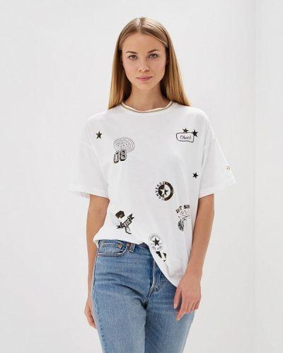 Белая футболка Converse