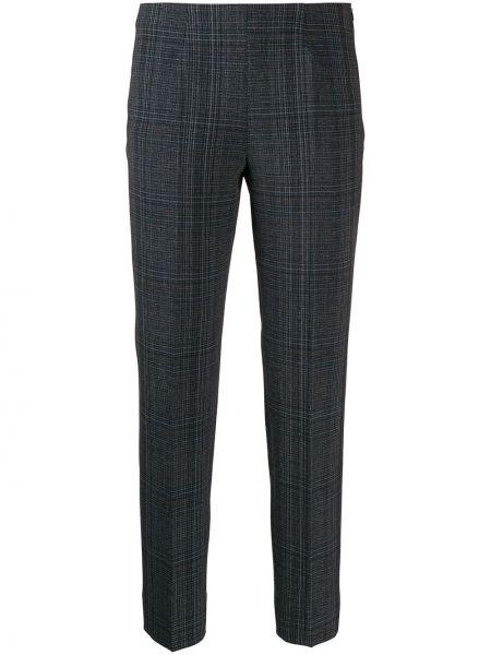 Укороченные брюки в клетку брюки-хулиганы Piazza Sempione