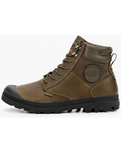 Зеленые ботинки Palladium