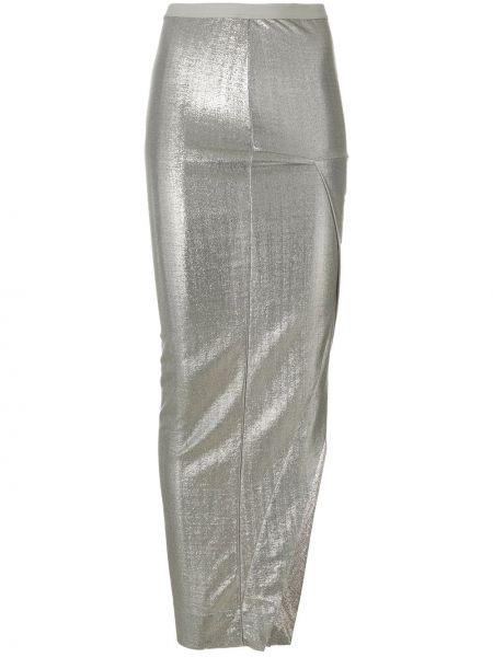Юбка макси асимметричная Rick Owens Lilies