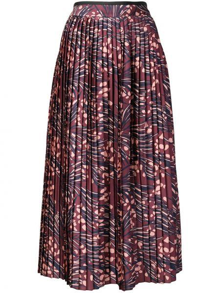 Плиссированная юбка с завышенной талией макси Victoria, Victoria Beckham