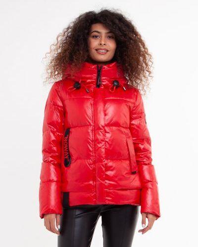 Стеганая куртка - красная Visdeer