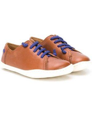 Ажурные кожаные туфли на шнуровке Camper