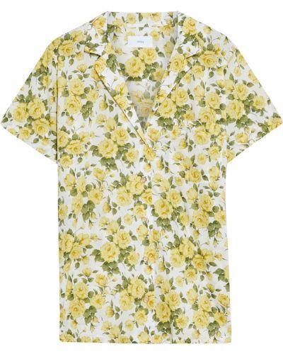 Biała koszula z printem Onia