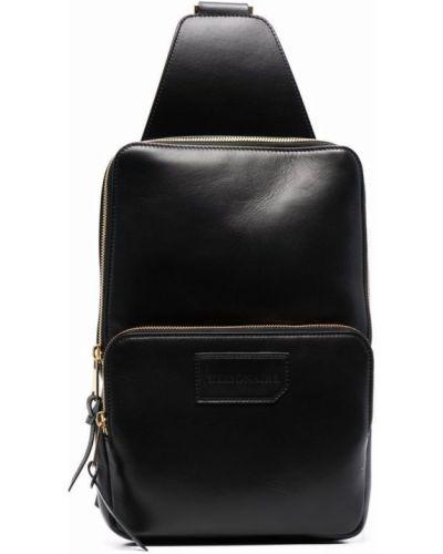 Кожаная сумка - черный Billionaire