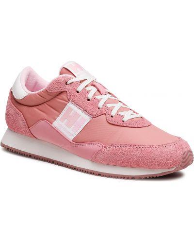 Buty sportowe skorzane - różowe Helly Hansen