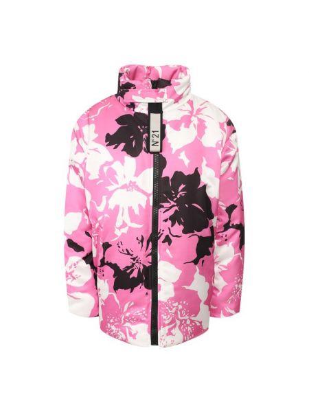 Утепленная куртка - розовая No. 21