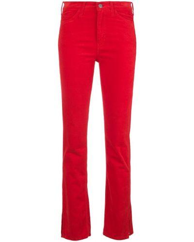 Брюки повседневные - красные Mih Jeans
