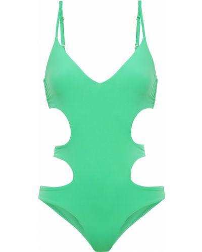 Зеленый купальник с подкладкой с вырезом Melissa Odabash