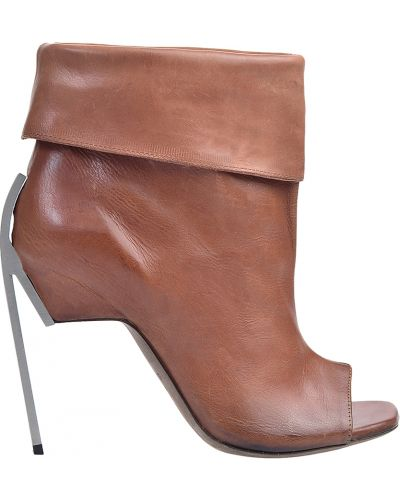 Кожаные ботинки на каблуке Vic Matie