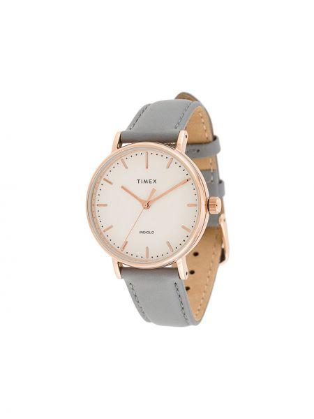 Zegarek szary do twarzy Timex