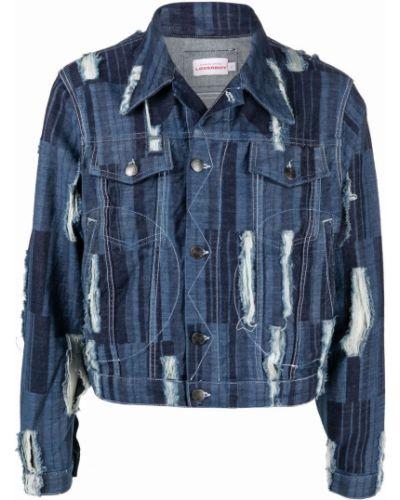 Niebieskie klasyczne jeansy Charles Jeffrey Loverboy