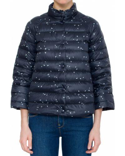 Куртка с перьями - синяя Armani Jeans