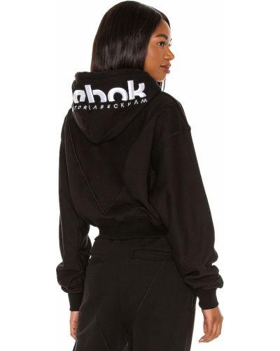Худи с капюшоном - черное Reebok X Victoria Beckham