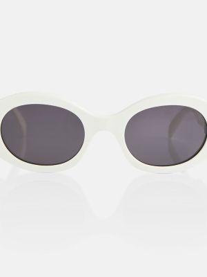 Солнцезащитные очки винтажные - белые Celine Eyewear