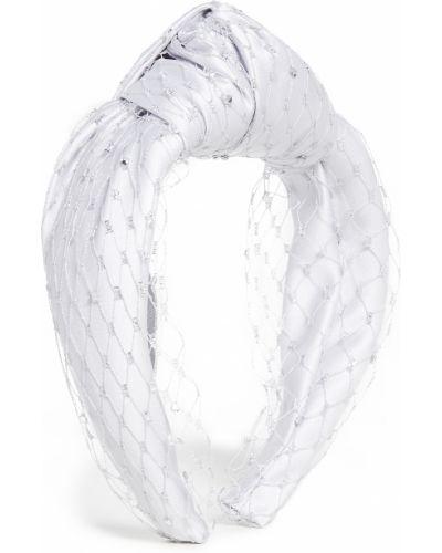 Ажурный серебряный ободок металлический Eugenia Kim