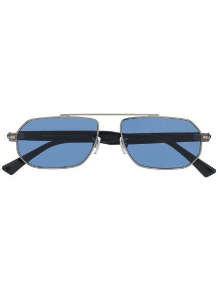 Прямые муслиновые черные солнцезащитные очки Jimmy Choo Eyewear