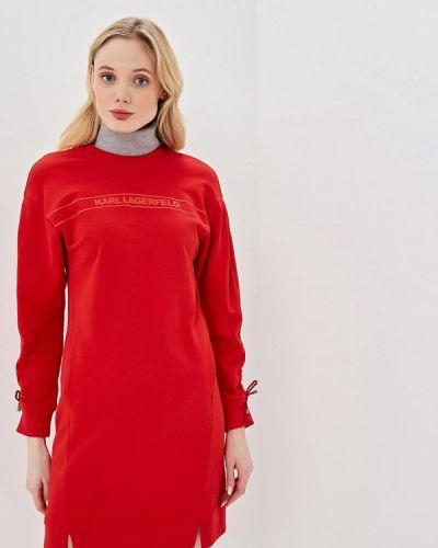 Платье весеннее платье-толстовка Karl Lagerfeld