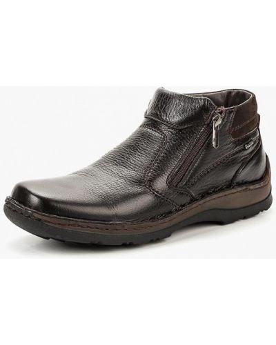 Ботинки осенние кожаные демисезонный Legre