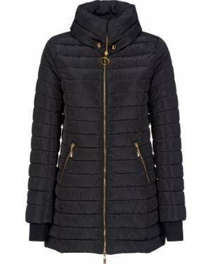 Куртка из полиэстера - черная Cavalli Class