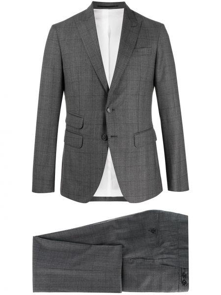 Wełniany garnitur z paskiem Dsquared2