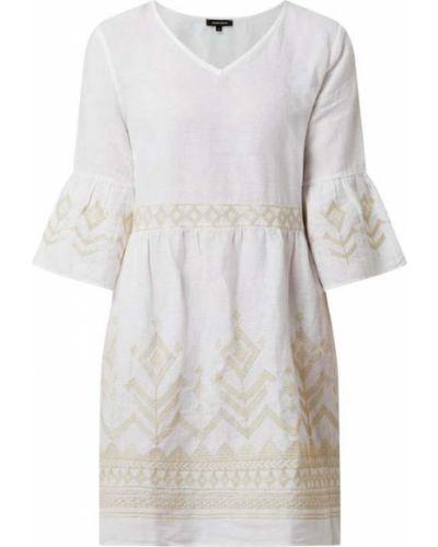Sukienka rozkloszowana - biała More & More