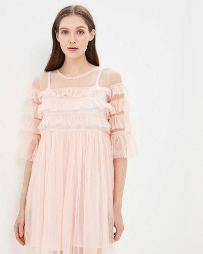Розовое платье Danity