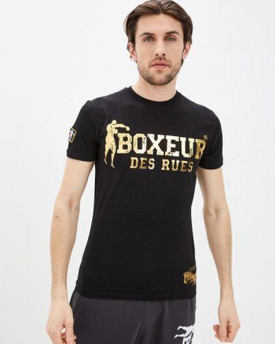 Черная футболка Boxeur Des Rues