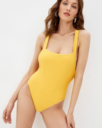 Слитный купальник - желтый Rvca