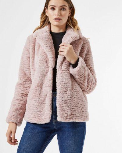 Розовая шуба Dorothy Perkins