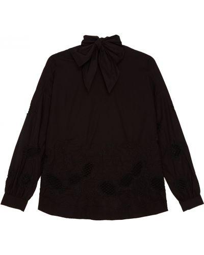 Блузка с вышивкой с воротником-стойкой Essentiel Antwerp