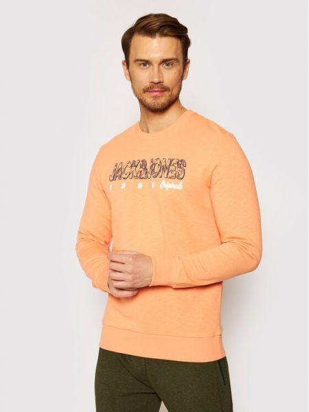 Pomarańczowa bluza Jack&jones