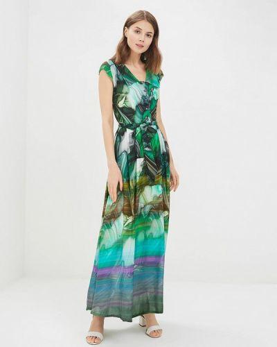 Зеленое платье весеннее Madam T