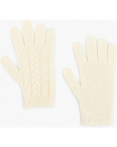 Бежевые перчатки текстильные United Colors Of Benetton
