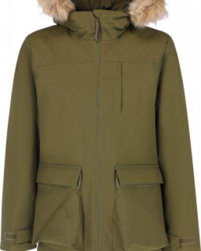 Зеленая зимняя куртка Adidas