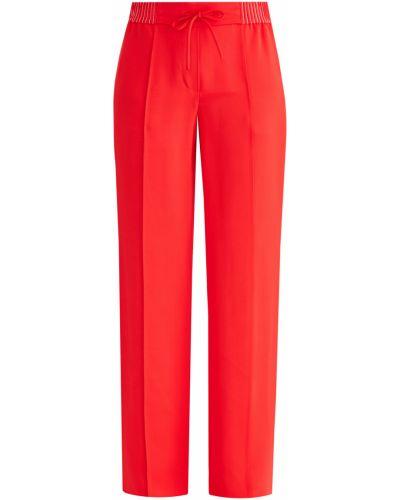 Свободные брюки со стрелками из вискозы Valentino