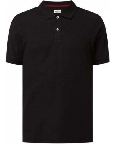 T-shirt bawełniana - czarna Montego