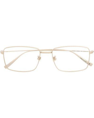 Złote okulary Dunhill